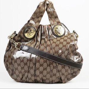 Handbags - Gucci coated tote.. stun with this beauty.